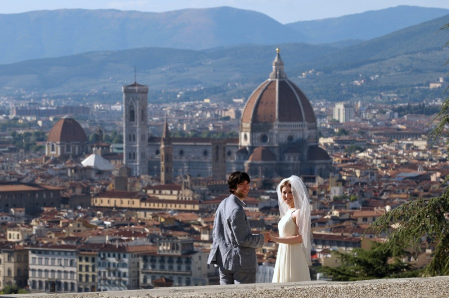 Florence, Italy – Piazzale Michelangelo (1)