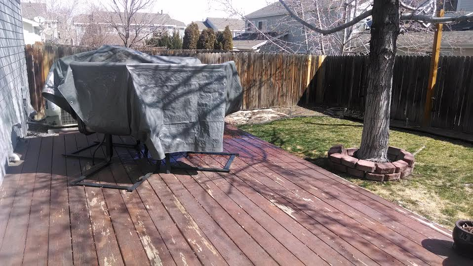 A Very Sad Looking Backyard Was Turned Into A Beautiful Rest Place