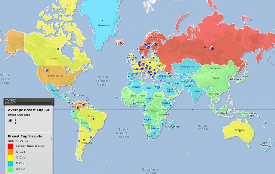 53 Funny And Also Educational Maps Thedailytopcom