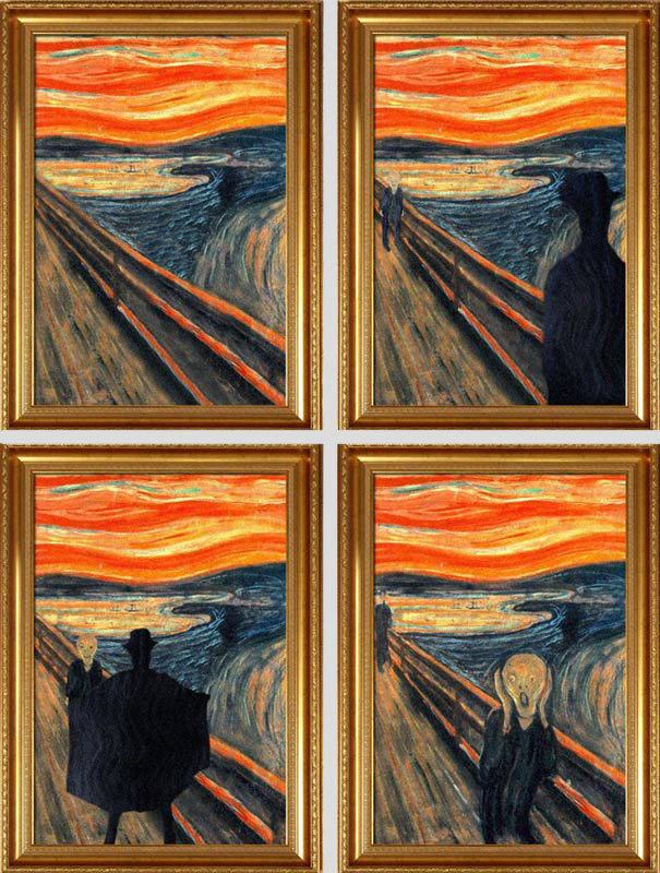 10 Series Paintings: Before and After