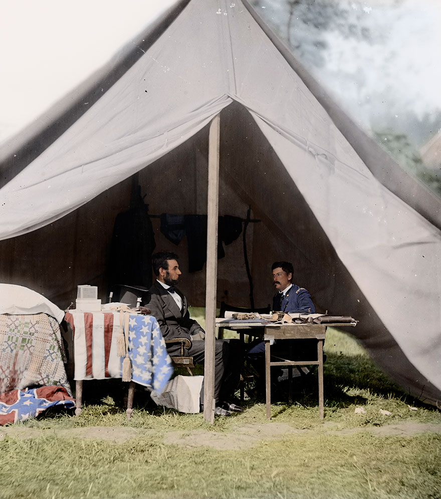 36 Colorized Historic Black and White Pictures