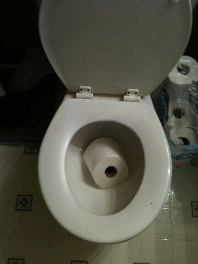 god dammit momments toilet paper