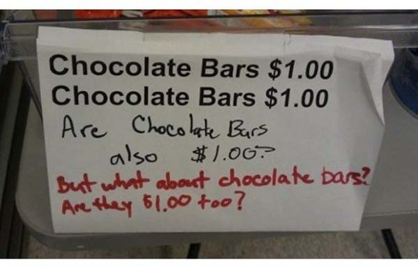 11fucking And how about the bars made of chocolate?