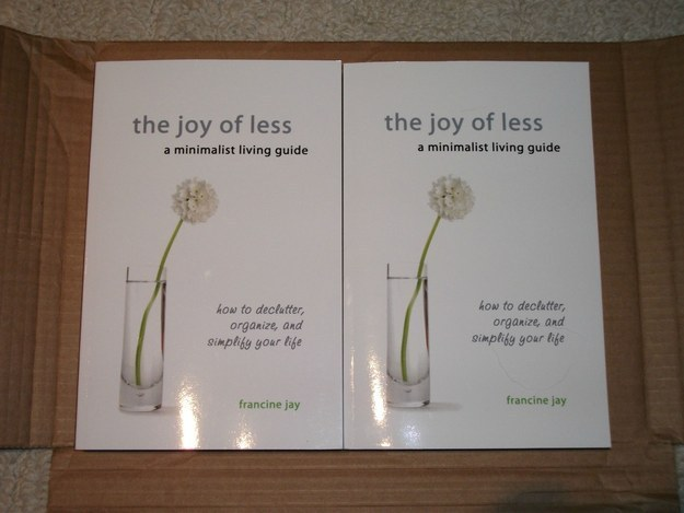 The fact that this person received two copies of this book after only ordering one.