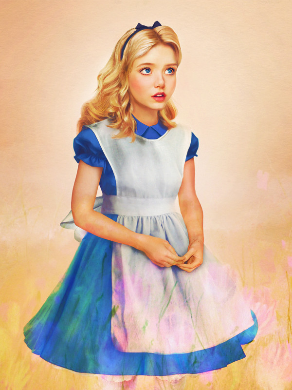 Realistic And Beautiful Portraits Of Disney Characters