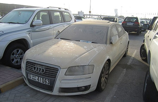 Dubai is in Trouble of Having Got Numerous Abandoned Luxury Cars