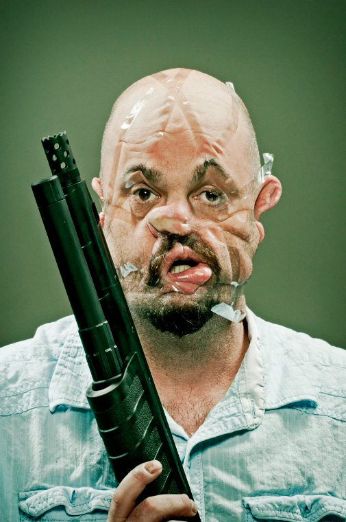 Really Disturbing! Check Out These Scotch Tape Faces