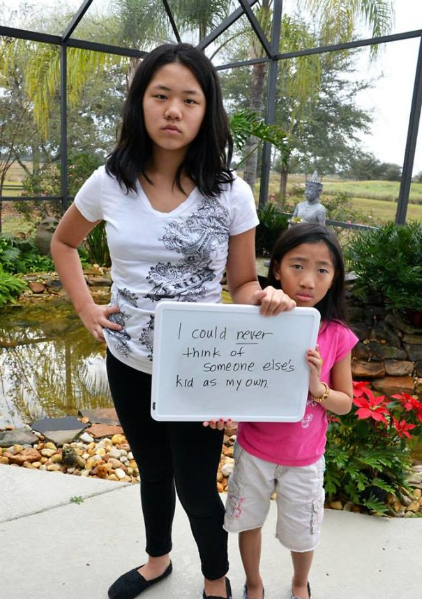 Things Said To Or About My Adopted Daughters