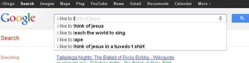 google search suggestions jesus