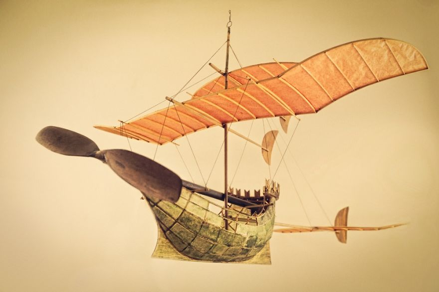 The Ships that Sail on the Clouds: Created by luigi Prina