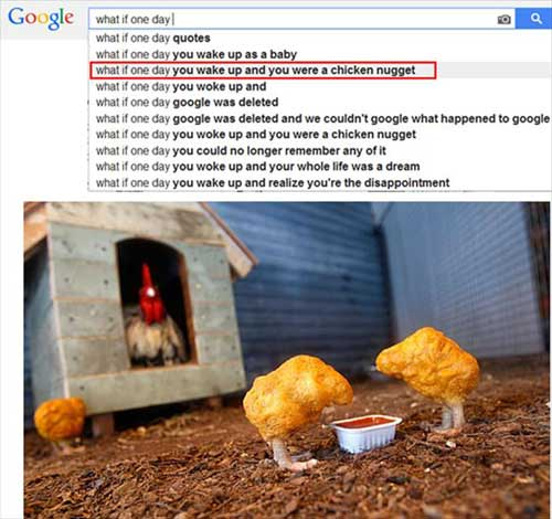google search suggestions nugget