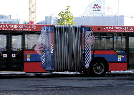 30 Remarkable Bus Ads
