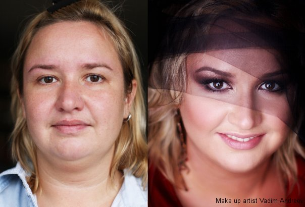 10 Amazing Before and After Makeup Pictures: Don't Believe in Your Eyes