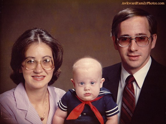 Awkward Baby  Family Pictures (6)
