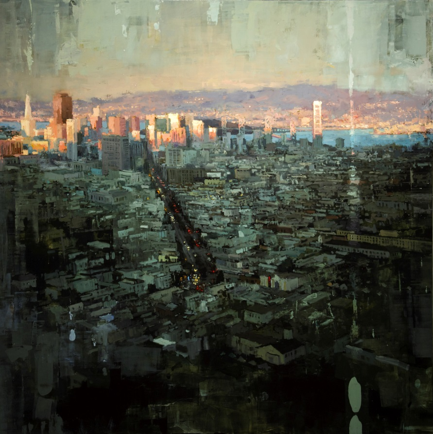 Dreaming Cityscapes by Jeremy Mann (1)