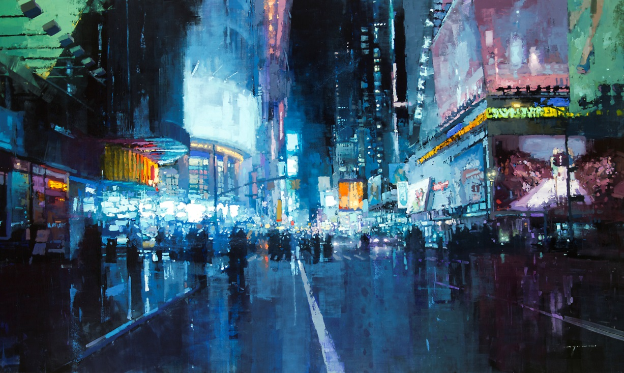 Dreaming Cityscapes by Jeremy Mann (2)