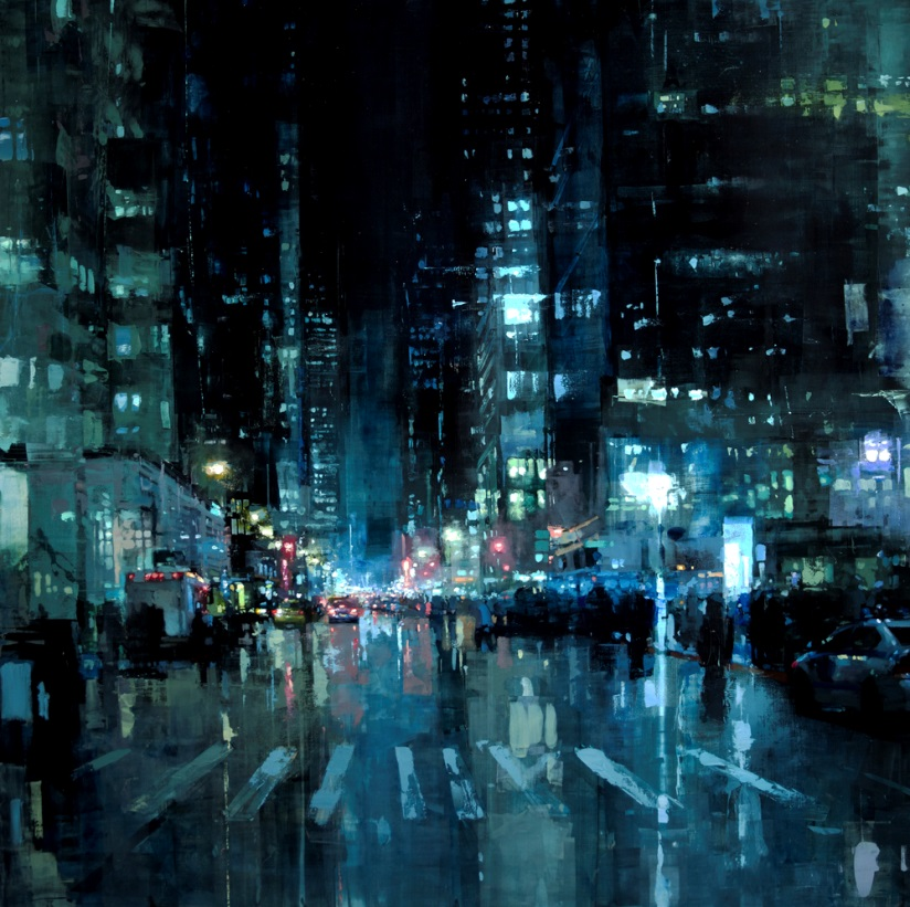 Dreaming Cityscapes by Jeremy Mann (3)