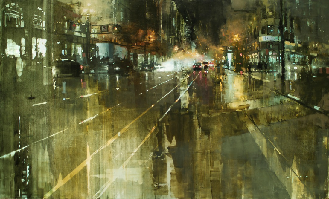 Dreaming Cityscapes by Jeremy Mann (4)