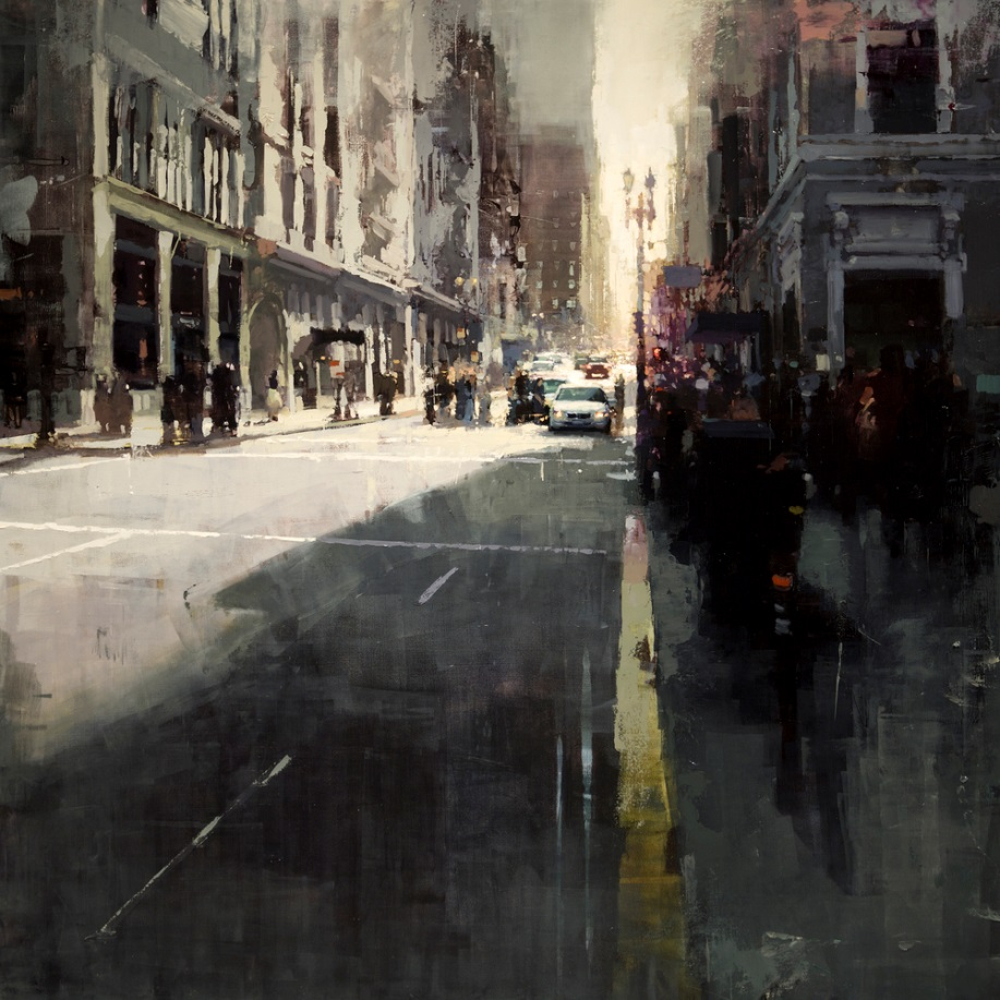 Dreaming Cityscapes by Jeremy Mann (6)