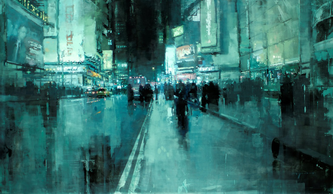 Dreaming Cityscapes by Jeremy Mann (7)