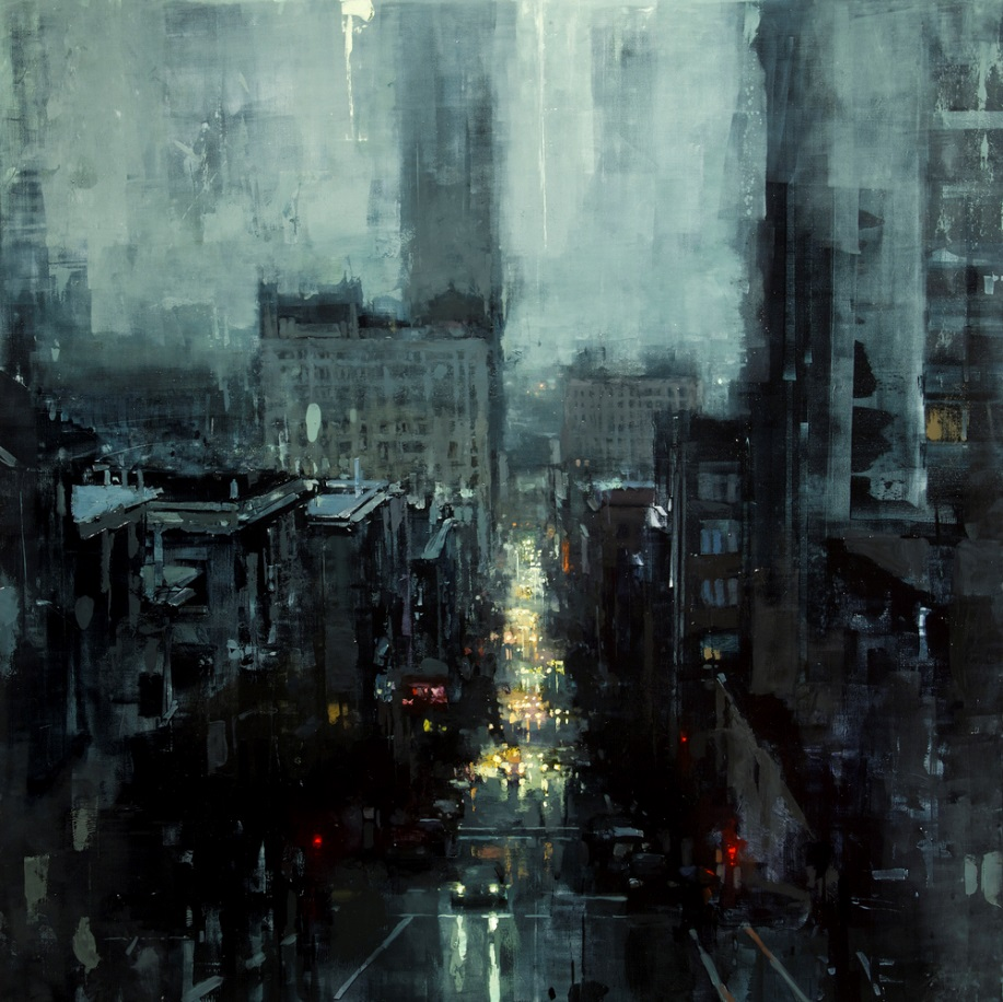 Dreaming Cityscapes by Jeremy Mann (8)