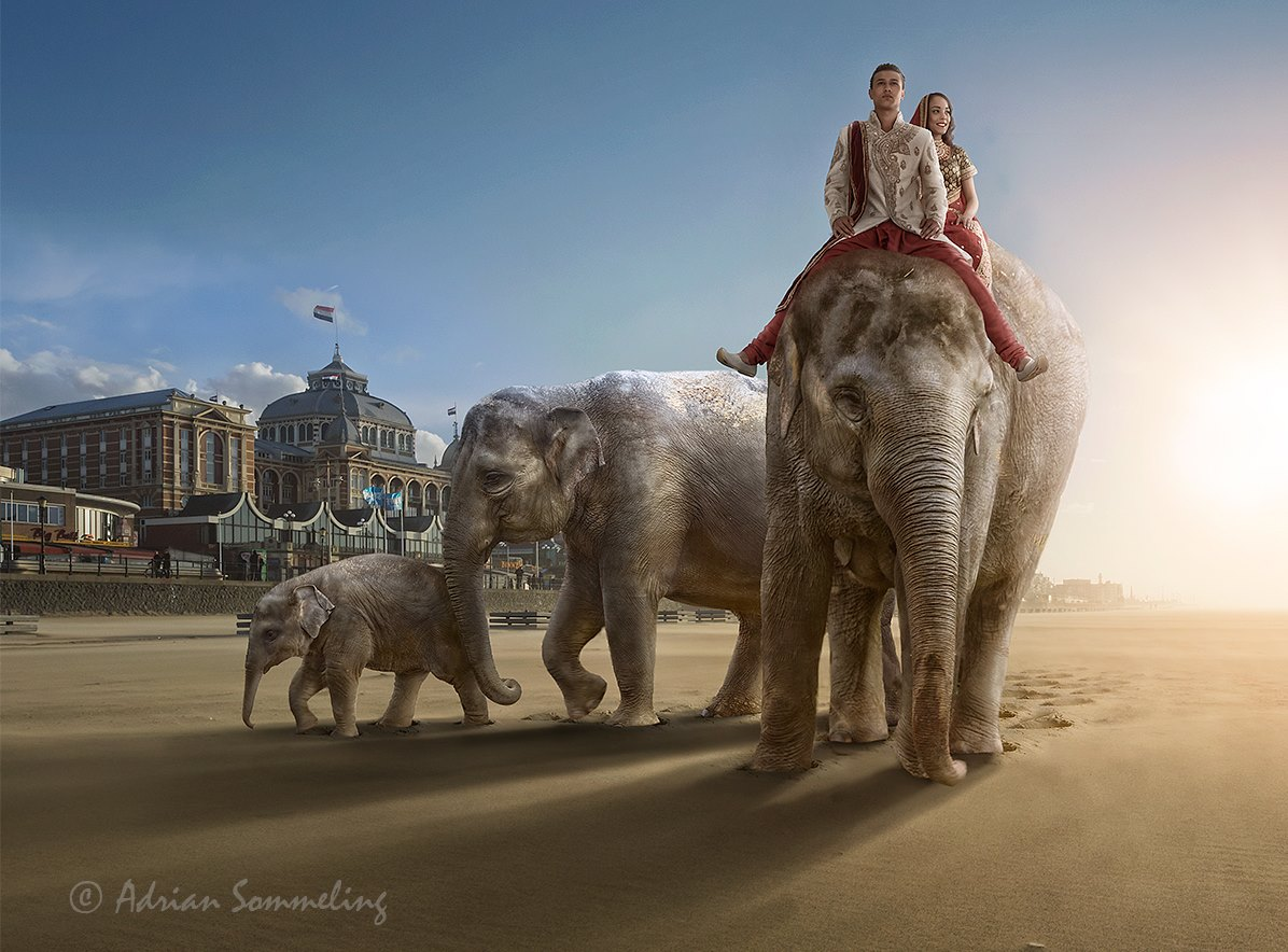 Photos an imaginative world created by Adrian Sommeling (26)