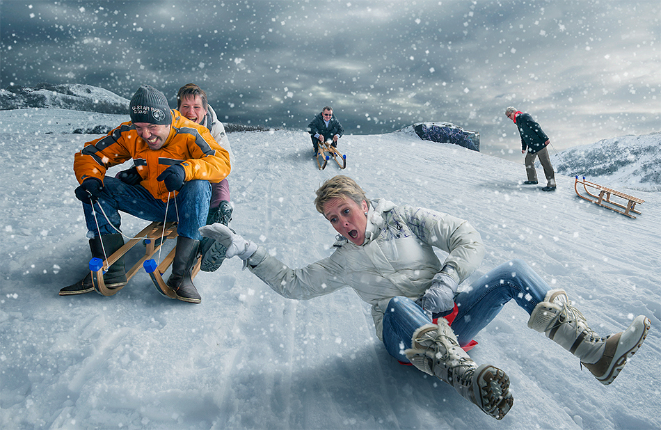 Photos an imaginative world created by Adrian Sommeling (7)