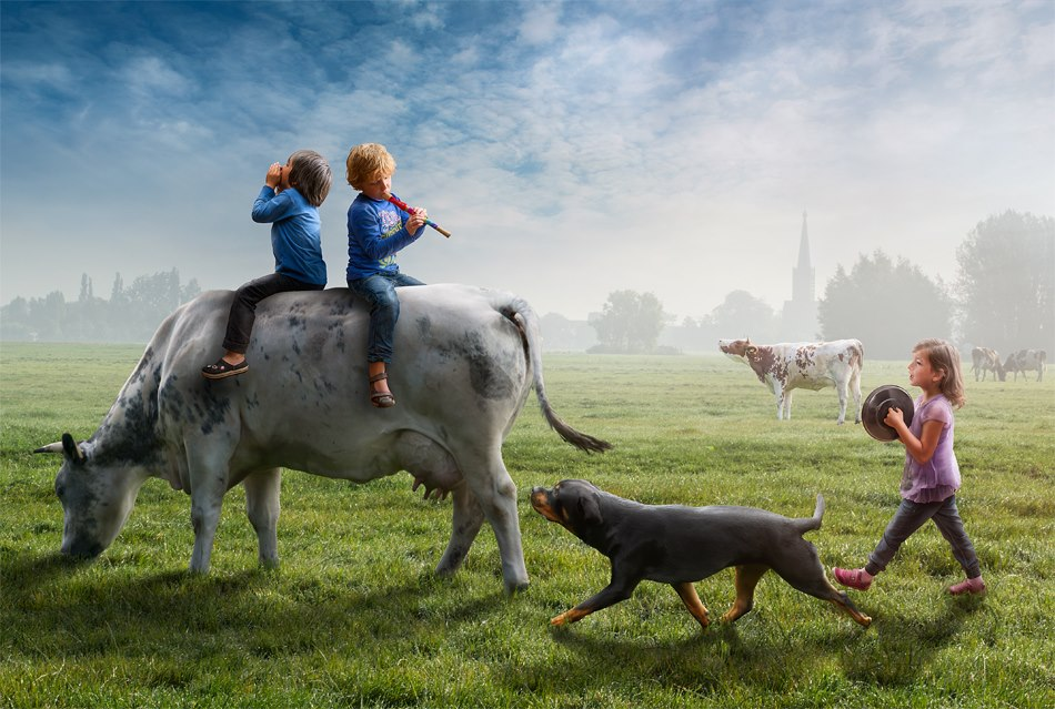 Photos an imaginative world created by Adrian Sommeling (8)