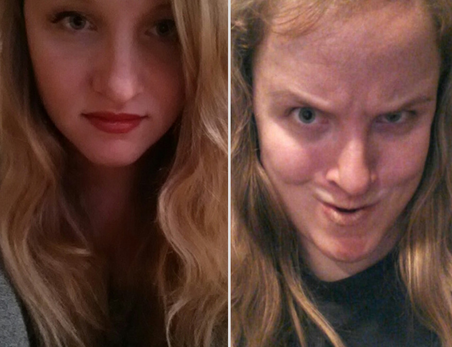 Pretty Girls Making Ugly Faces (10)