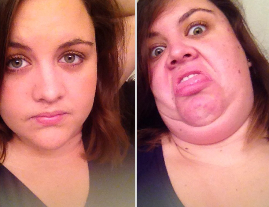 Pretty Girls Making Ugly Faces (15)