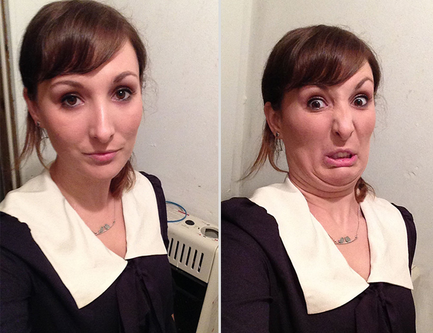 Pretty Girls Making Ugly Faces (2)