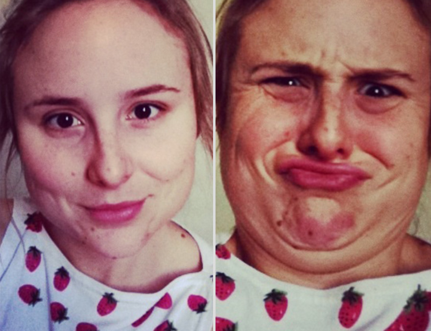 Pretty Girls Making Ugly Faces (3)