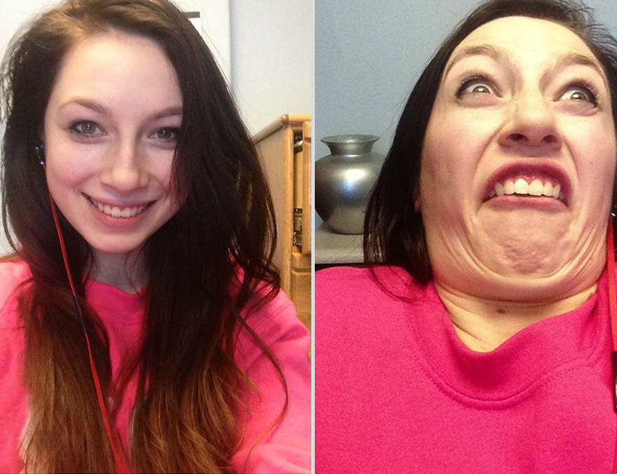 Pretty Girls Making Ugly Faces (8)