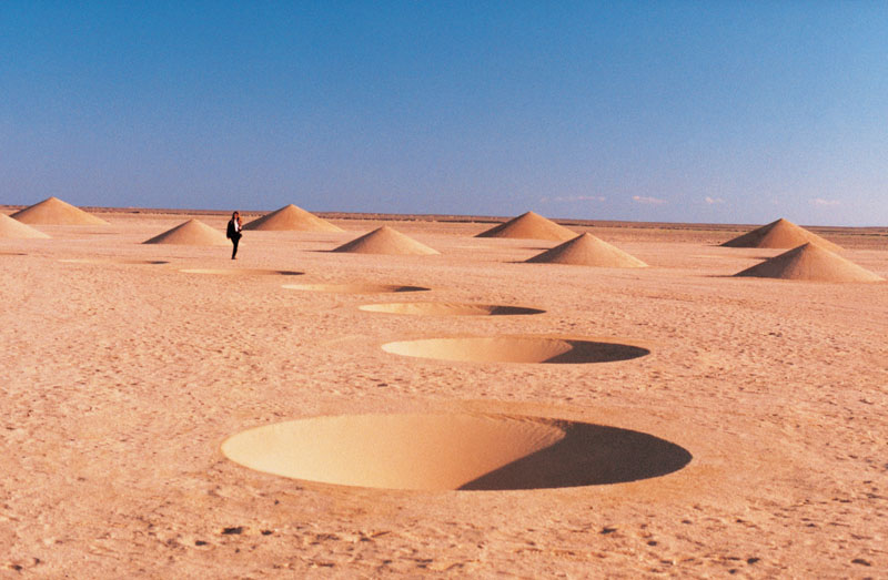 Spectacular art installation in the sahara desert (6)