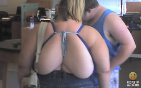 Strange And Funny Looking People Of Walmart (1)