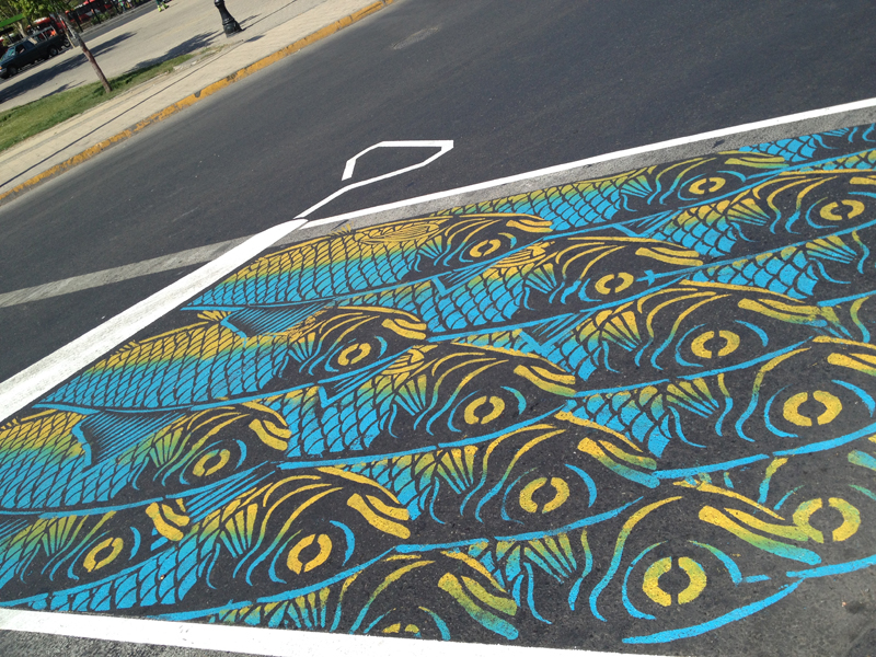 Street artist transform the street of montreal into a visual playground (1)
