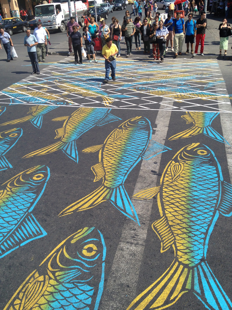 Street artist transform the street of montreal into a visual playground (4)