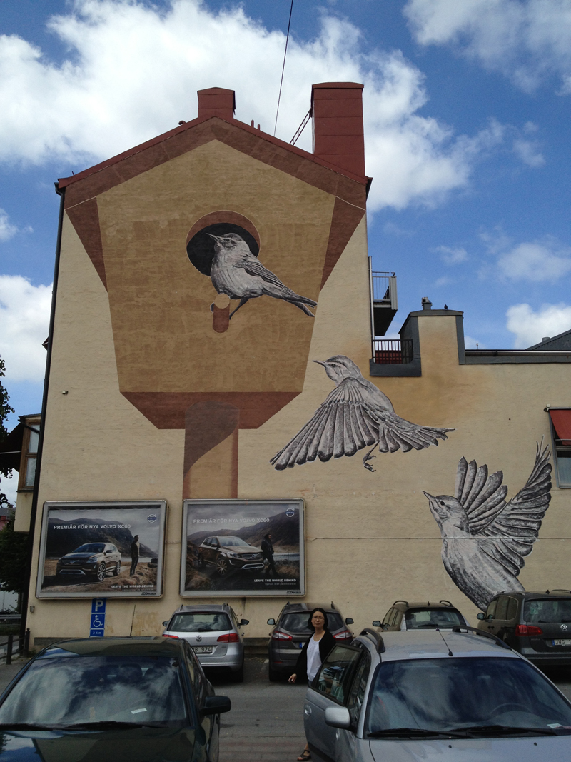 Street artist transform the street of montreal into a visual playground (6)
