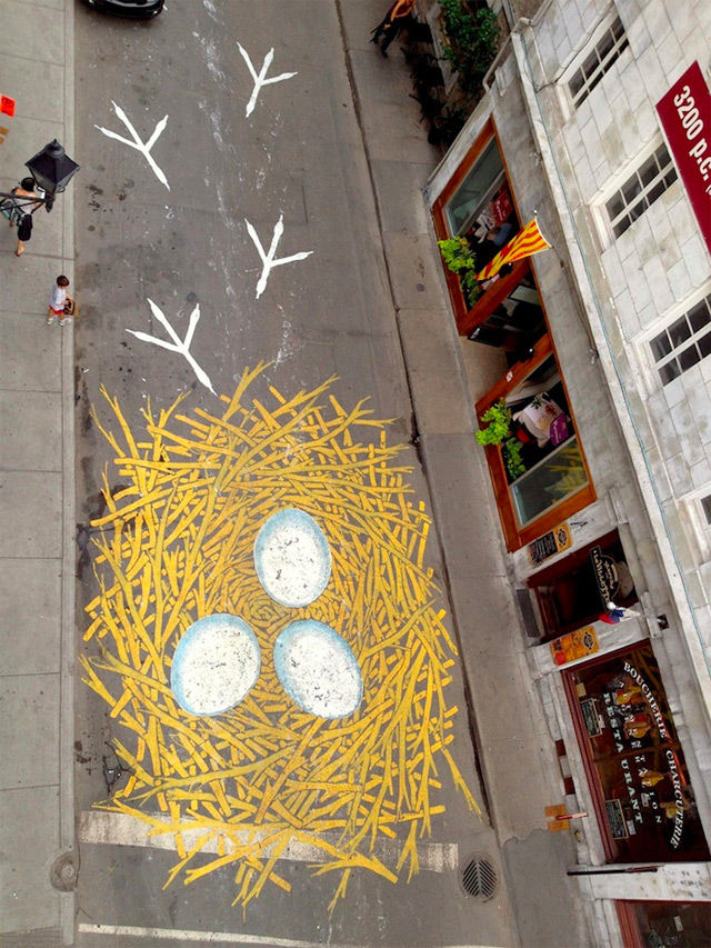 Street artist transform the street of montreal into a visual playground (8)
