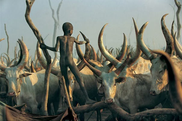 The Dinka Tribe, South Sudan (11)