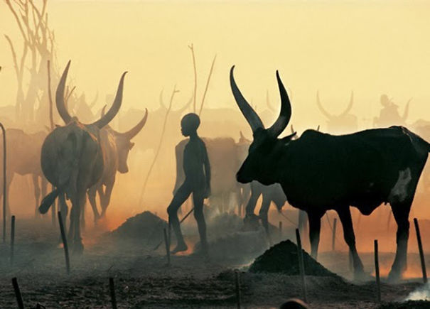 The Dinka Tribe, South Sudan (22)
