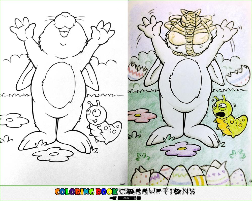Utterly Twisted Colored Book Corruptions (15)