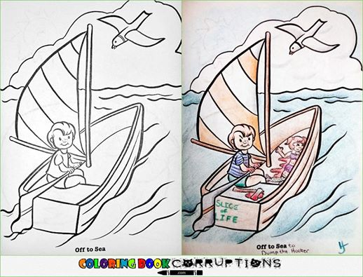 Utterly Twisted Colored Book Corruptions (4)