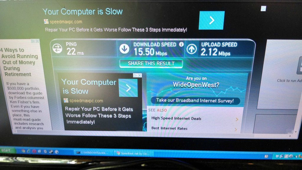 Ten Times Faster! With Daily Objects You Can Make Your Internet Go Crazy