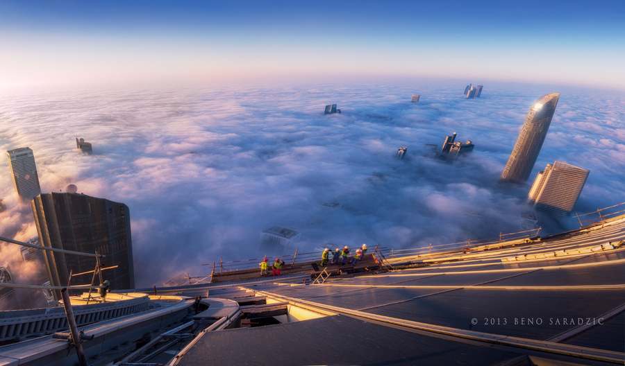 Photograph At The Edge Of The Abyss by Beno Saradzic on 500px