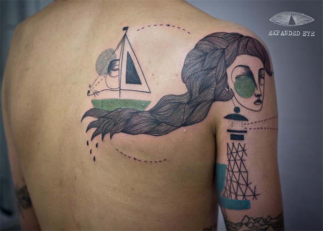 Expanded Eye: Amazing tattoos by Jade Tomlinson and Kev James