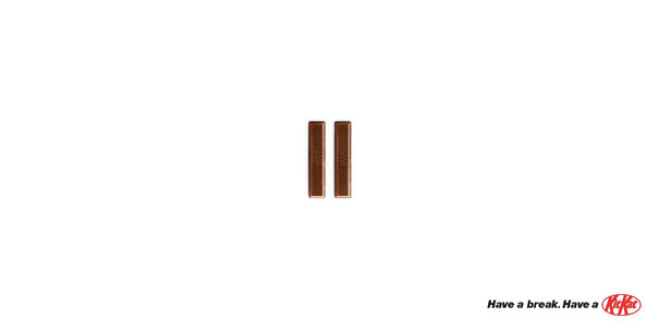 50 Really Clever Minimalist Print Ads that'll Catch Your Eye