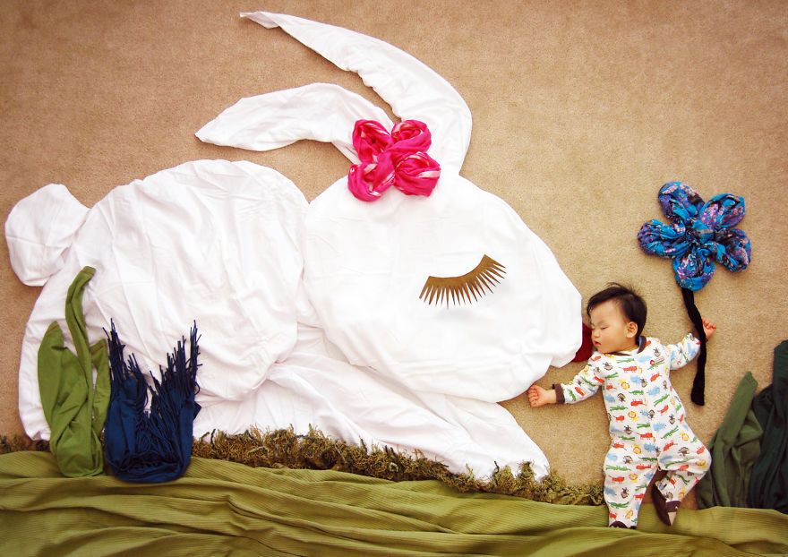 Baby's Naptime a Fairy Tale