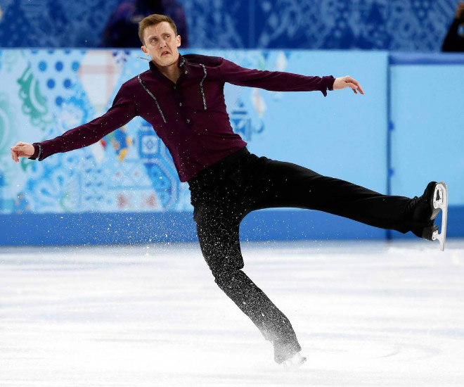 Funny Faces Of Olympic Figure Skating