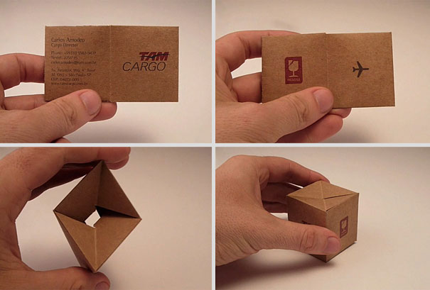 clever and ingeniously business cards